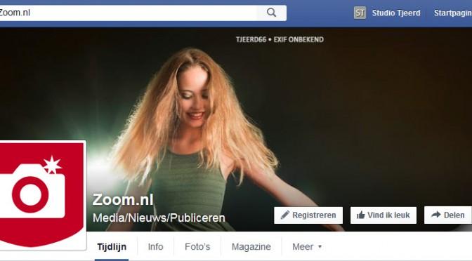 Foto door Zoom uitgekozen als coverfoto op Facebook!