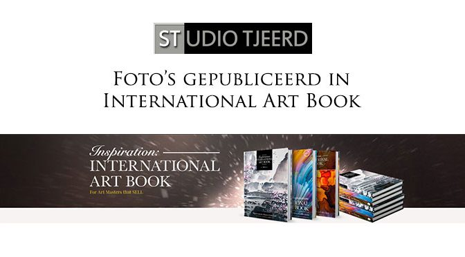 "Eerste exemplaar ""Inspiration: International Art Book"" van de pers gerold!"