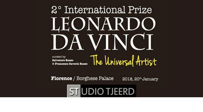 International Prize Leonardo da Vinci (Italië): benodigdheden opgestuurd