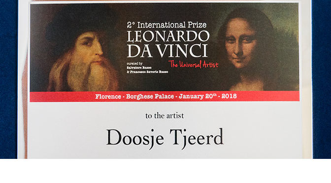 International Prize Leonardo da Vinci (Italië) in bezit!