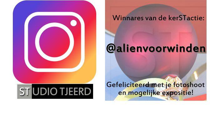 Winnares Instagram kerSTactie bekend