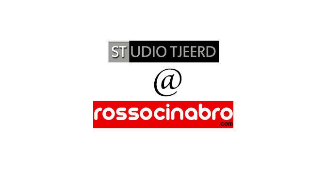 Persoonlijke uitnodiging Rosso Cinabro galerie Rome ontvangen