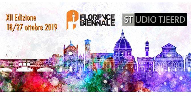 Persoonlijke uitnodiging Florence Biennale, Italië, ontvangen