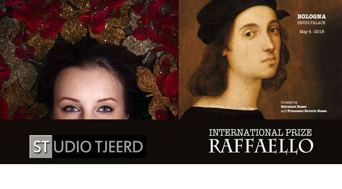 Officiële uitnodiging ceremonie International Prize Raffaello (Italië)
