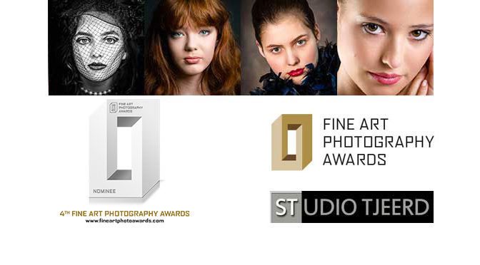 "4e editie ""Fine Art Photography Awards"": Nominee in Portrait"