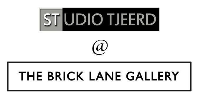 Persoonlijke uitnodiging Brick Lane Gallery, Londen, ontvangen