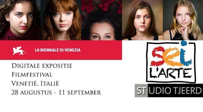 Vandaag start digitale expositie filmfestival Venetië (Italië)