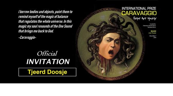 Gehonoreerd met International Prize Caravaggio (Italië)