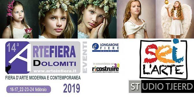 Dit weekend opnieuw foto's in expositie op grote kunstbeurs Treviso, Italië