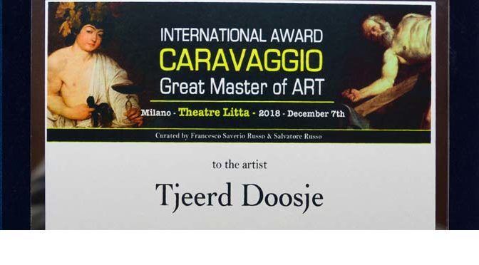International Prize Caravaggio (Italië) in bezit!
