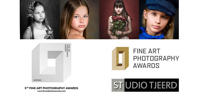 "5e editie ""Fine Art Photography Awards"": 2 foto's Nominee in Portrait"