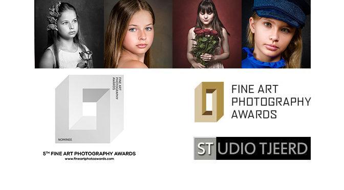 """5e editie """"Fine Art Photography Awards"""": 2 foto's Nominee in Portrait"""