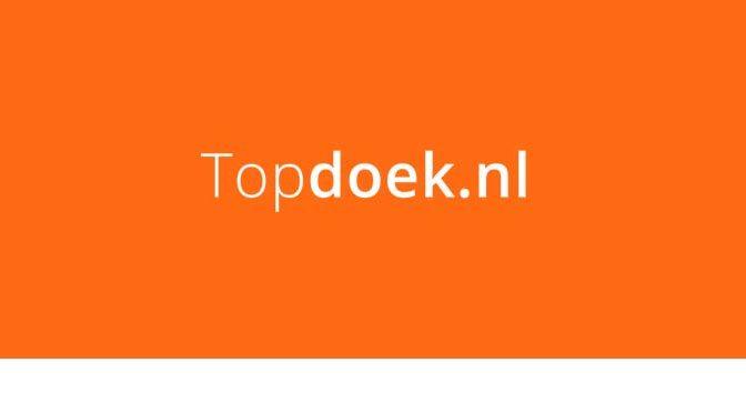 Bestelling bij Topdoek.nl gedaan