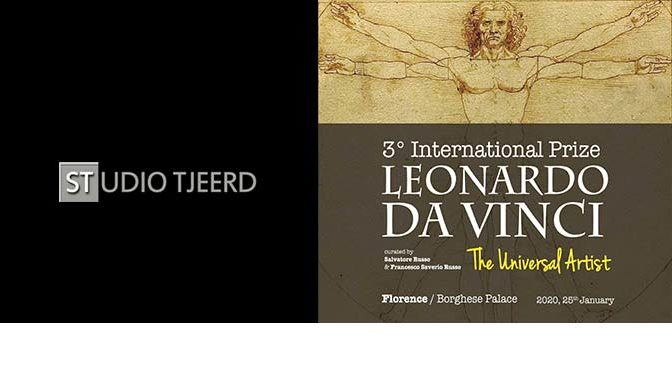 Uitnodiging International Prize Leonardo da Vinci (Italië)
