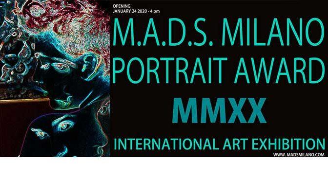 "Catalogus en review internationale expositie ""Portrait Award MMXX"", Milaan (Italië)"