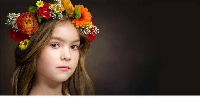 Foto Anoek ingestuurd voor Child Photo Competition
