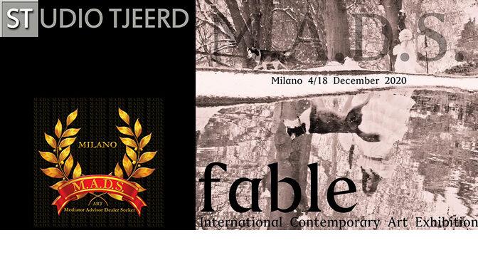 """Vijf foto's in internationale expositie """"Fable"""", Milaan"""
