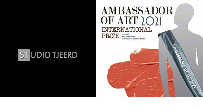 Gehonoreerd als Ambassador of Art 2021 The Netherlands