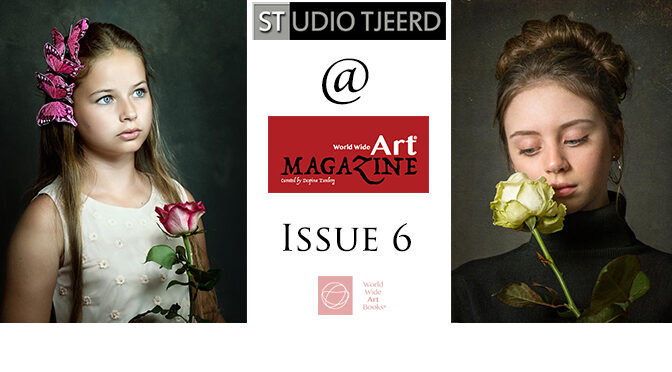 Twee foto's gepubliceerd in World Wide Art Magazine 6
